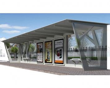 太阳能候车亭公交站台